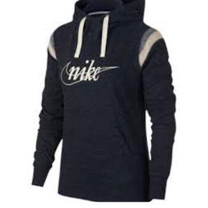 Nike Women's Gym Vintage Varsity Hoodie